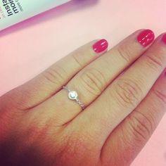 Nos #jolies #bagues #girls #manucure #diamant #silver