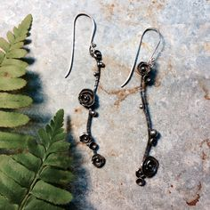 M* Jewelry / playful / nature / sedum / earrings
