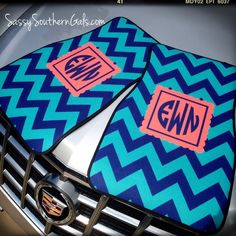 Personalized/Monogrammed Car Mats are an adorable way to prep out your car.  Set of 2 front mats.   *****************************************************************************************************  ^^^^^^IMPORTANT CHRISTMAS INFORMATION^^^^^^^   Car mat production is running 2 - 2 1/2 week