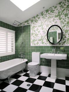 green bathroom. Greg Natale | Sydney based architects and interior designers