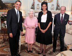 Michelle Et Barack Obama, Barack Obama Family, Michelle Obama Fashion, Princess Elizabeth, Queen Elizabeth Ii, Princess Kate, Prince William And Kate, Prince Philip, Prince Harry