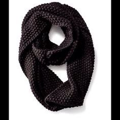 Black Infinity Scarf. Brand New! Black, infinity, 100% ACRYLIC Old Navy Accessories Scarves & Wraps