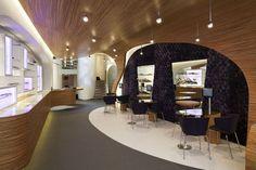 Alexander Nowotny offers lavish retail space interior for Hoftstede optical shop design