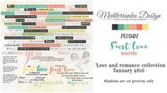 First love (Words) by Mediterranka Design
