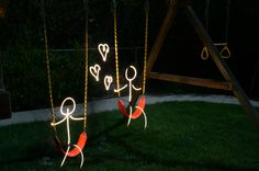 Must try this!  Just need to find a swing set first ;o)