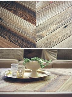 Diy Furniture DIY herringbone barn wood hairpin leg coffee table (i would LOVE to make this aka have Mike make this lol) -Read More – Diy Wood Pallet, Wood Pallets, Barn Wood Projects, Diy Projects, Hairpin Leg Coffee Table, Coffee Tables, Hairpin Legs, Wood Furniture, Furniture Makeover