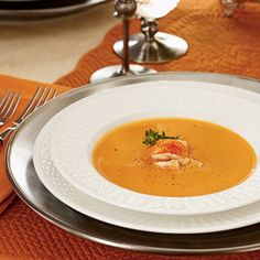 Our Best Thanksgiving Recipes | Lobster Bisque | CoastalLiving.com