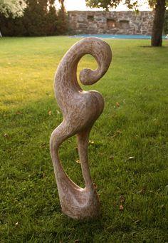 FIGURE, lime, height 80 cm / POSTAVA, lípa, výška 80 cm / Viva wood art
