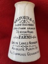 WELFORD & Co DAIRY FARMERS  STREATHAM / NORBURY (LONDON ) CREAM POT.