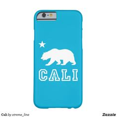 Cali Barely There iPhone 6 Case. #California #iPhone