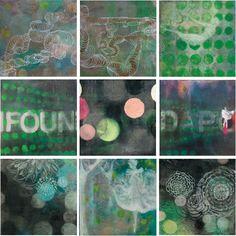 Sojourn. oil, acrylic, spray paint on wood