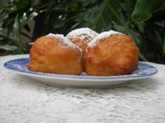 How to Make Dutch New Year's Donuts Any Time of Year: Oliebollen (Dutch Donuts)ALSO oliebollen yeasted dough with raisins and candied fruit and than fried in oil