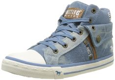 Mustang 1146-503-88 Damen Hohe Sneakers - http://on-line-kaufen.de/mustang/mustang-1146-503-88-damen-hohe-sneakers