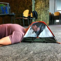 Looking to go ultralight on your next backpacking trip? Try out the REI Sleeping Giant head tent!