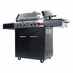 Swiss Grill A250B Arosa 4-Burner Gas Barbecue
