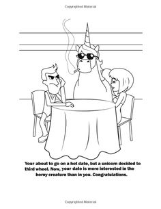 coloring book for grown ups unicorns have no chill the jerks of the enchanted - Unicorns Are Jerks Coloring Book