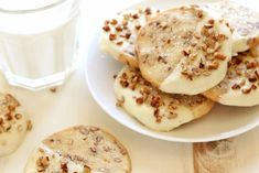 Icebox Cookie Recipe, Icebox Cookies, Fun Cookies, Holiday Cookie Recipes, Holiday Cookies, Christmas Recipes, Thanksgiving Recipes, Pureed Food Recipes, Cooking Recipes
