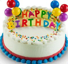 """Light the candles and say """"happy birthday"""" with our official birthday cake in any flavor you could wish for."""