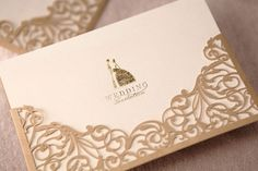 #coisinhasqueamamos: Convites com corte a laser   Blog do Casamento