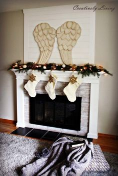 christmas-mantel-decor-with-huge-awesome-beautiful-festive-angel-wings-by-creatively-living-683x1024