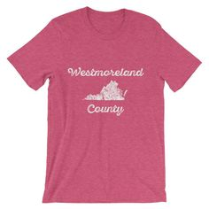 "Westmoreland County ""Faded"" Men's T-shirt"