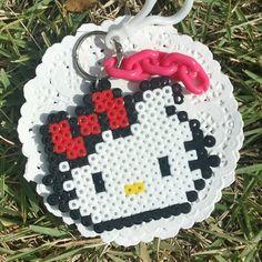 Hello Kitty perler beads by artm_1214