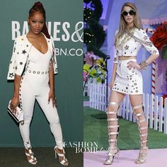 Hot! Or Hmm...: @KekePalmer attended her 'I Don't Belong To You' book signing in a @philippplein78 Spring 2017 cropped star embellished jacket and matching white high-waist pants from the brand. What do you think? #fashionbombdaily #instastyle #instafashion #philipplein #celebritystyle #fashion #hotorhmm #kekepalmer #style #realstyle