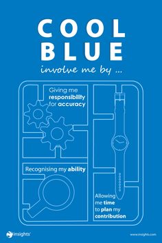 Don't forget to involve those with a strong Cool Blue approach when kicking off new projects or plans. Personality Profile, Personality Types, Disc Assessment, Insights Discovery, Customer Insight, Job Resume, Istj, Employee Engagement, Pranayama