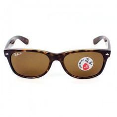 Gafas de Sol RB2132 902/57 gafa habana lente cristal marron polarizado