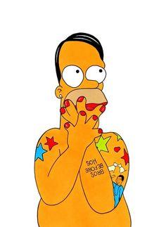 Marc Simpson? Homer Jacobs??   심슨 치고 쌕끈하네 ㅎㅎ