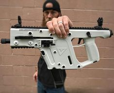Sci Fi Weapons, Weapons Guns, Guns And Ammo, Big Guns, Cool Guns, Tactical Survival, Tactical Gear, Rifles, Kriss Vector