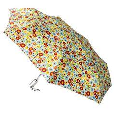 totes Auto Open/Close Umbrella - Multicolor Ditsy Floral (currently unavailable online)