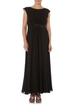 Embellished Waist Dress - at Roman Originals