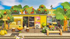 Animal Crossing Wild World, Animal Crossing 3ds, Island Theme, Sims 4 Houses, All About Animals, Seaside Towns, New Theme, Island Life, Decoration