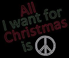 All I want for Christmas is Love | Anonymous ART of Revolution