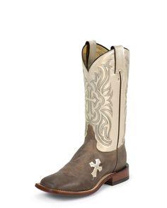 7877723026e Women s Tony Lama Tan Tuscan Goat Bone Cross Cowgirl Boots- I want these  sooooo bad!