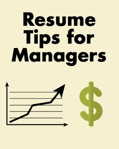Resume Tips Specifically for Managerial Positions