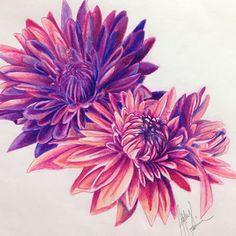 Crysanthemum tattoo- shoulder or side of rib