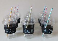 Vasos personalizados para las fiestas infantiles