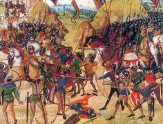 """¿Duró cien años la """"Guerra de los cien años""""? Te lo contamos aquí: http://www.muyinteresante.es/historia/preguntas-respuestas/duro-cien-anos-la-guerra-de-los-cien-anos-861421745590"""