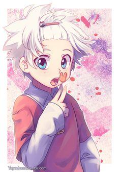 Hunter x Hunter - Kirua (Killua) enfant - Trop chou >//<