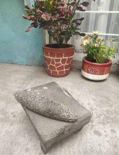 Metate volcanic stone | Etsy Cookware, Planter Pots, Throw Pillows, Stone, Etsy, Diy Kitchen Appliances, Kitchen Gadgets, Toss Pillows, Rock