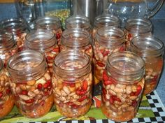 Canning Dried Soaked Beans. Here is a step by step tutorial on canning Seasoned Beans. These beans can be used in any recipe that you use beans in. Canning Beans, Canning Tips, Home Canning, Canning Recipes, Canning Labels, Canning Food Preservation, Preserving Food, Tapas, Canned Food Storage