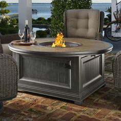 online shopping for Dogwood Aluminum Gas Fire Pit Table from top store. See new offer for Dogwood Aluminum Gas Fire Pit Table