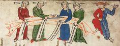 Cod. Pal. germ. 389 Thomasin <Circlaere>   Welscher Gast (A) — Bayern (Regensburg?), um 1256 Folio 154r