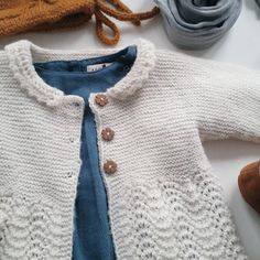 """Something old. Something blue.  #madebyme #strikkemamma #knitting #strikkedilla #iloveknitting #jegstrikker #ullergull #norskbarnemote"""