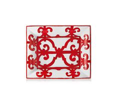 Hermes 'Balcon du Guadalquivir' porcelain rectangular change tray