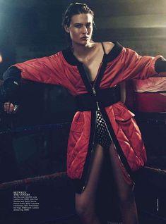 Glamorous Boxing Editorials : Vogue Australia September 2013