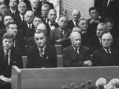 Kennedy, Johnson, Eisenhower, and Truman