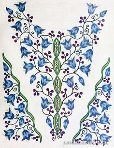 For bead embroidery.  Also, page has instructions for accessing free vintage patterns
